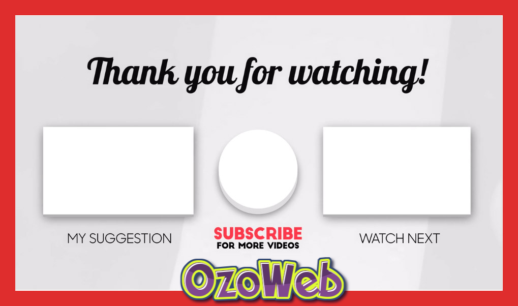 youtube-end-card-video-template free